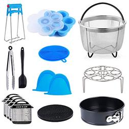 15 In 1 Accessories Compatible with Instant Pot 6, 8Qt - Ste