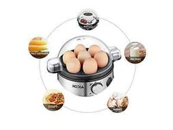 Aicok Egg Cooker Egg Boiler Electric Egg Maker with 7 Egg Ca