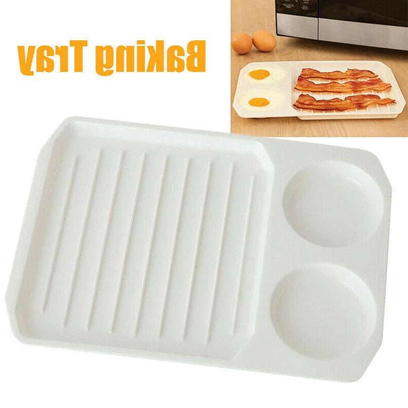 2 in 1 microwave bacon egg cooker