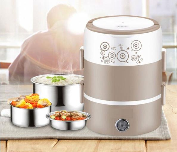 Electric rice stainless rice <font><b>cooker</b></font> student custard