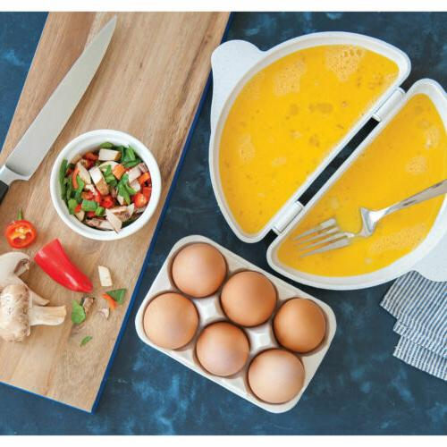 Omelet Eggs Microwave by Progressive Microwavable Pan Oven