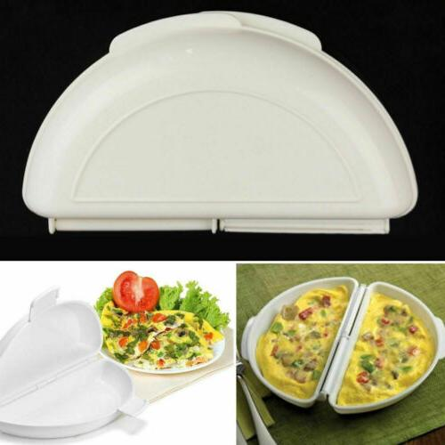 Microwave Omelet Pan Microwavable Cooker As On US