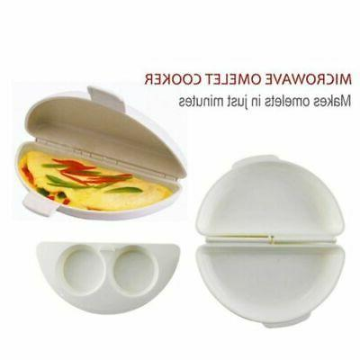 Omelet Maker by Microwavable Pan Oven