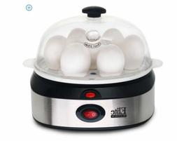 NEW Electric Stainless Steel Egg Cooker Rapid Go Automatic E