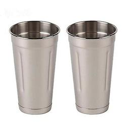 30 oz Stainless Steel Malt Cup by Tezzorio, Professional Bl