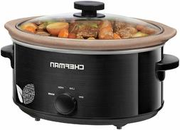 Chefman 5 Qt Slow Cooker Natural Chemical-Free Stovetop Oven