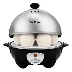 VonShef 7 Electric Egg Cooker Automatic Steamer Poacher Stee